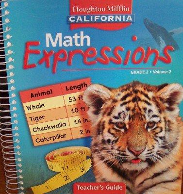 9780618895519: Math Expressions Teacher's Guide Grade 2 (California, Volume 2)