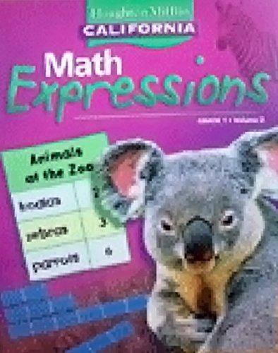 9780618896035: Houghton Mifflin Math Expressions California: Student Edition, Level 1 Volume 1 2008