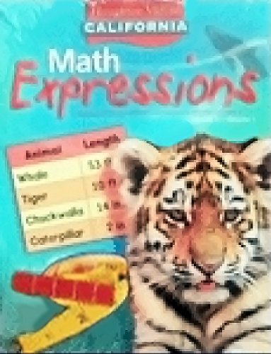 9780618896066: Houghton Mifflin Math Expressions California: Student Edition, Level 2 Volume 1 2008