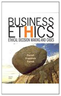 9780618896493: Business Ethics : Ethical Decision Making and Cases