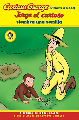 9780618896882: Jorge el curioso siembra una semilla/Curious George Plants a Seed (CGTV Reader) (Spanish and English Edition)