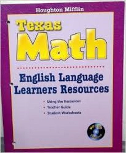 9780618897384: Texas Math: English Language Learners Resources w/ MP3 CD