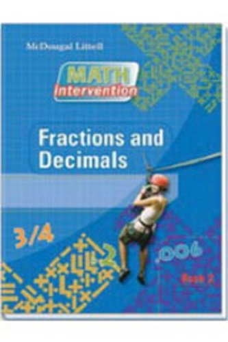 9780618900473: Algebra Readiness, Book2: Fractions and Decimals