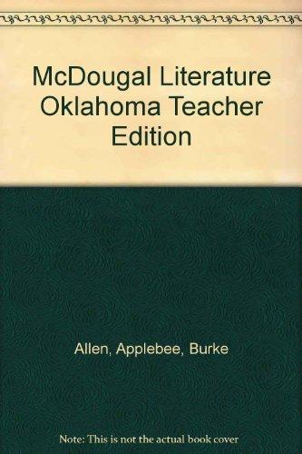9780618902200: McDougal Literature Oklahoma Teacher Edition