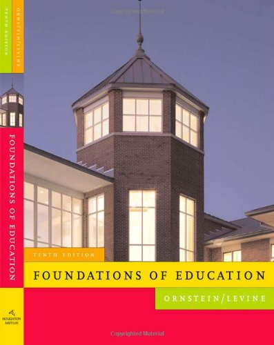 9780618904129: Foundations of Education