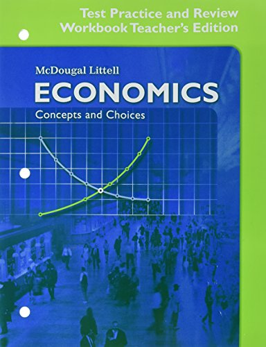 economics test practice and review concepts and choices - AbeBooks