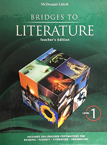 9780618905898: McDougal Littell: Bridges to Literature Level I (Teacher's Edition)