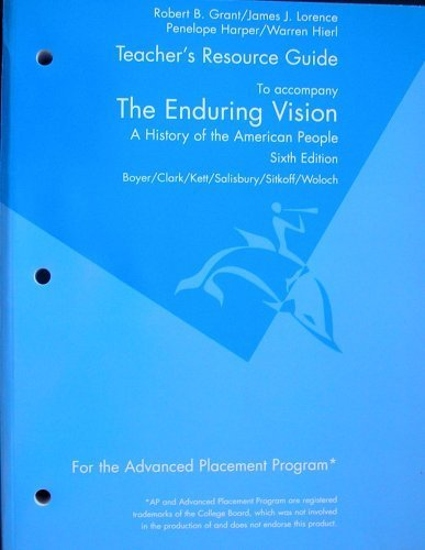 9780618906185: End Vision Ap Tchr Res Manual