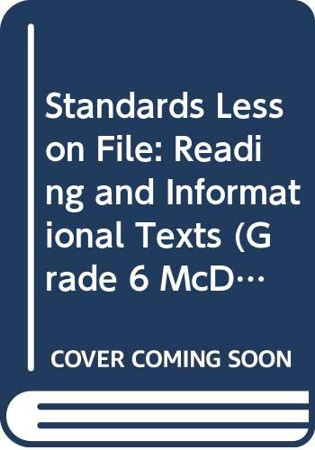 9780618906642: Standards Lesson File: Reading and Informational Texts (Grade 6, McDougal Littell Literature)