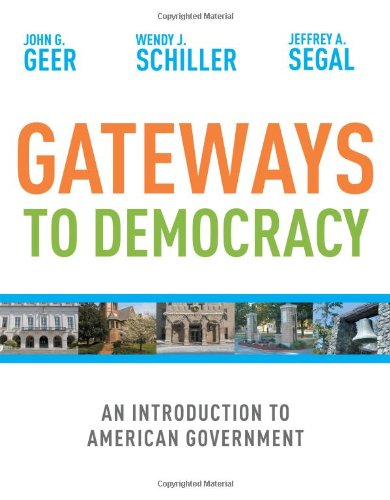9780618906956: Gateways to Democracy: An Introduction to American Government (Available Titles CengageNOW)
