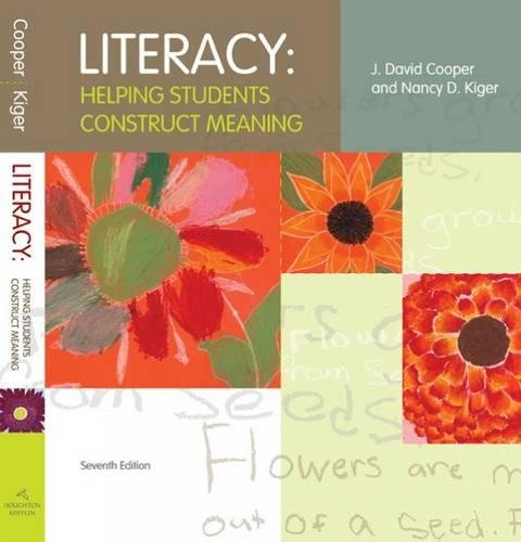 9780618907083: Literacy: Helping Students Construct Meaning