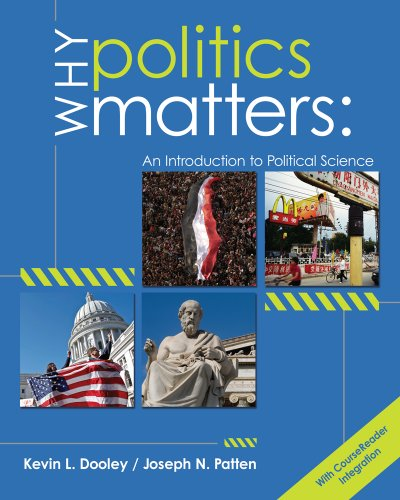 9780618907151: Why Politics Matters: An Introduction to Political Science (with CourseReader 0-60: Introduction to Political Science Printed Access Card) (New 1st Editions in Political Science)
