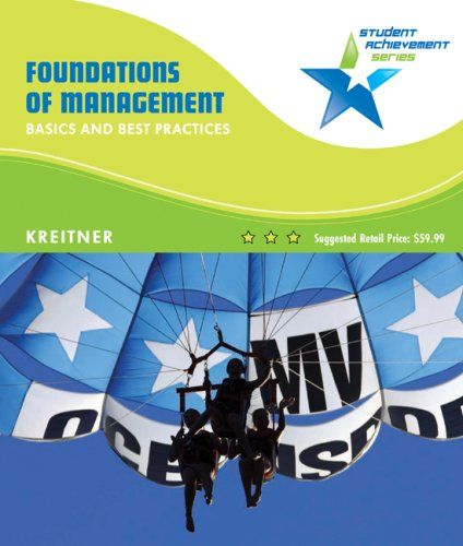 9780618907373: Student Achievement Series: Foundations of Management: Basics and Best Practices