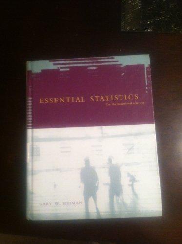 9780618908240: Essential Statistics: For the Behavioral Sciences, Second Edition