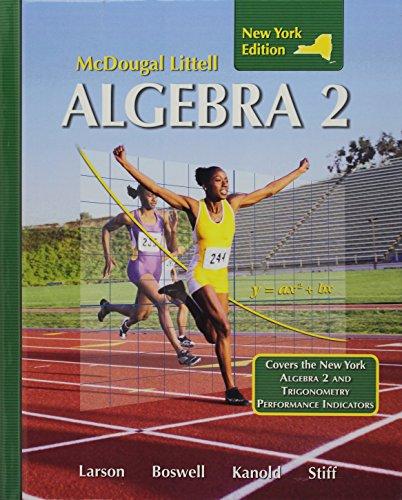 Holt Mcdougal Larson Algebra 2 Student Edition: McDougal-Littell Publishing Staff