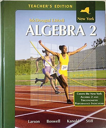9780618913640: Holt McDougal Larson Algebra 2: Teacher Edition Algebra 2 2008