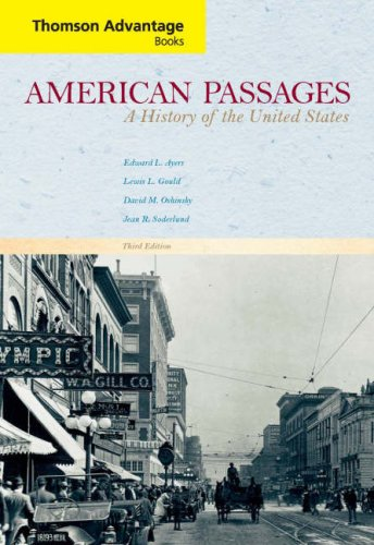 9780618914067: American Passages: A History of the United States, Third Edition