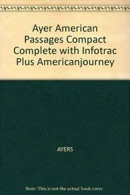 Ayer American Passages Compact Complete With Infotrac Plus Americanjourney