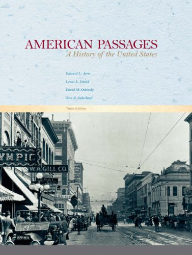 9780618914463: American Passages: A History of the United States