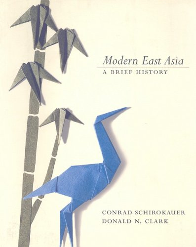 9780618915026: Modern East Asia: A Brief History (with InfoTrac)