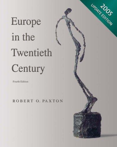 9780618915200: Europe in the Twentieth Century