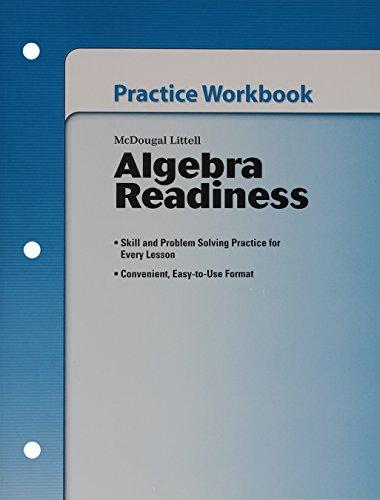 9780618916931: Algebra Readiness: Practice Workbook (Student) Grades 6-8