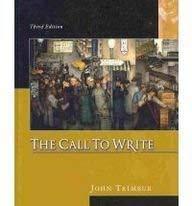 9780618917785: Call to Write