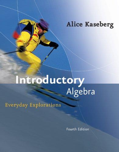 9780618918782: Introductory Algebra: Everyday Explorations
