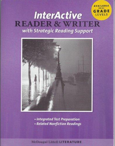 9780618920488: Literature, Grade 12 the Interactive Reader and Writer With Strategic Reading Support British Literature: Mcdougal Littell Literature