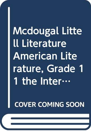 9780618920662: McDougal Littell Literature: The InterActive Reader and Writer with Strategic Reading Support w/Added Value American Literature