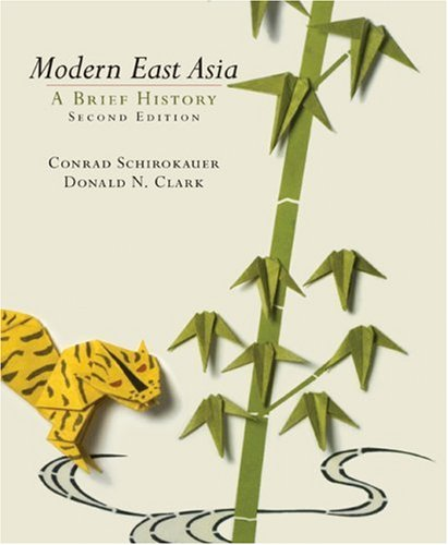 9780618920709: Modern East Asia: Student Text: A Brief History