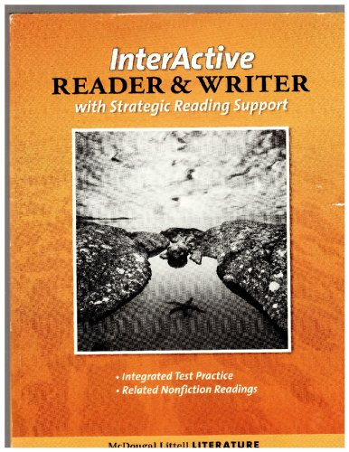 9780618920730: McDougal Littell Literature: The InterActive Reader & Writer w/Strategic Reading Support w/Added Value Gr 9