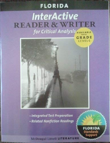 9780618920792: InterActive Reader & Writer for Critical Analysis Grade 8