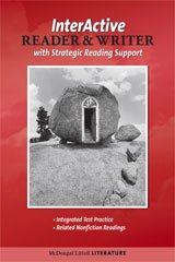 9780618920808: McDougal Littell Literature: The InterActive Reader & Writer w/ Strategic Reading Support w/ Added Value Gr 7