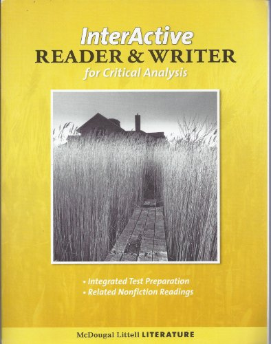 9780618921027: McDougal Littell Literature: The American Experience- Interactive Reader & Writer for Critical Analysis, Grade 11