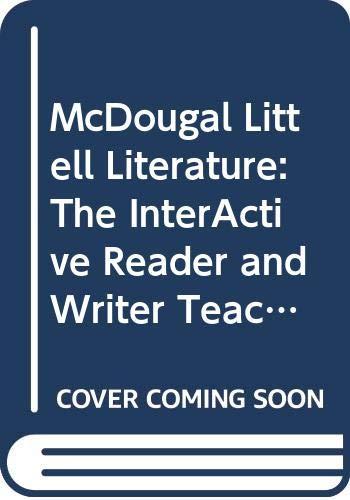 9780618921164: McDougal Littell Literature: The InterActive Reader and Writer Teacher's Guide Grade 8
