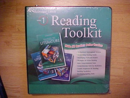 9780618921225: Bridges to Literature, Level 1, Reading Toolkit