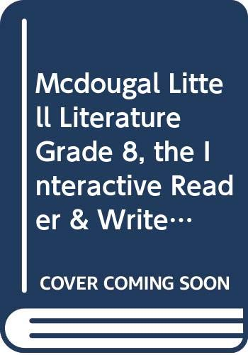 9780618921232: McDougal Littell Literature: The InterActive Reader & Writer w/ Strategic Reading Support w/Added Value Gr 8