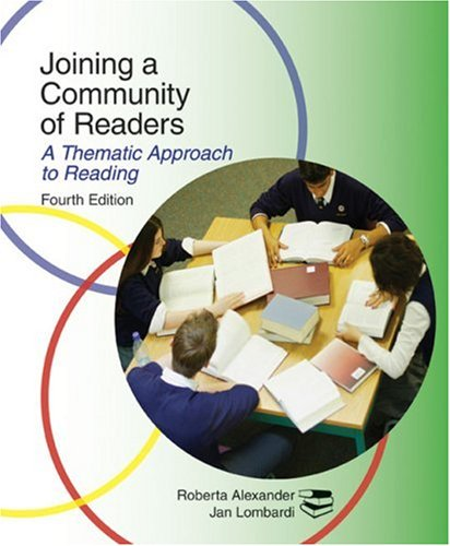 9780618922475: Joining a Community of Readers: A Thematic Approach to Reading