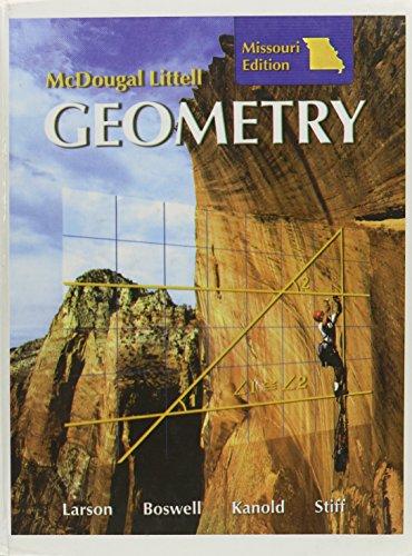 9780618922987: Holt McDougal Larson Geometry: Missouri, Student Edition