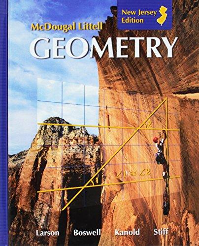 9780618923199: Holt McDougal Larson Geometry: Student Edition 2008