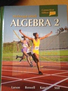 9780618923465: Holt McDougal Larson Algebra 2: Student Edition Algebra 2 2008
