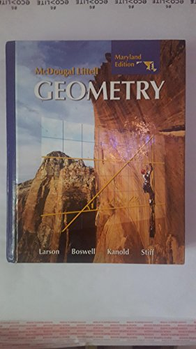 9780618923694: Holt McDougal Larson Geometry: Student Edition Geometry 2008