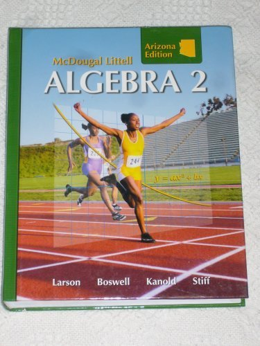 9780618923816: Holt McDougal Larson Algebra 2: Student Edition Algebra 2 2008
