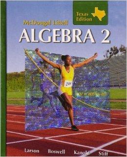 9780618923946: Holt McDougal Larson Algebra 2: Student Edition Algebra 2 2008