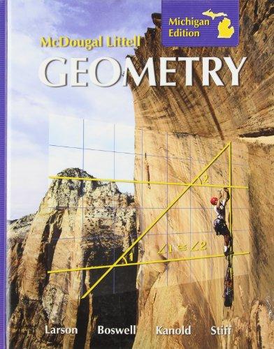 9780618924035: McDougal Littell Geometry, Michigan Edition