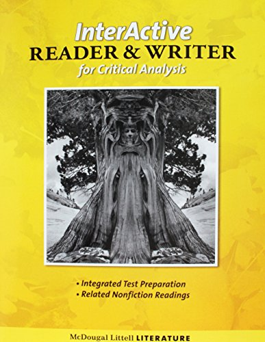 9780618924202: McDougal Littell Literature: Interactive Reader and Writer for Critical Analysis with Added Value Grade 6