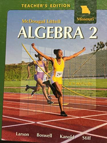 9780618924240: Algebra 2 (Missouri Edition) Teachers Edition (McDougal Littell Algebra 2)