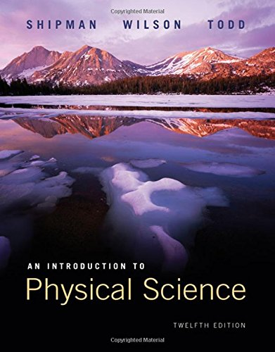 An Introduction to Physical Science: Student Text: Wilson, Jerry D.,