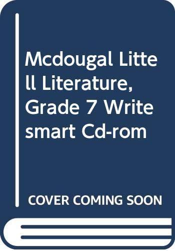 9780618928248: McDougal Littell Literature: WriteSmart Student Edition CD-ROM Grade 7